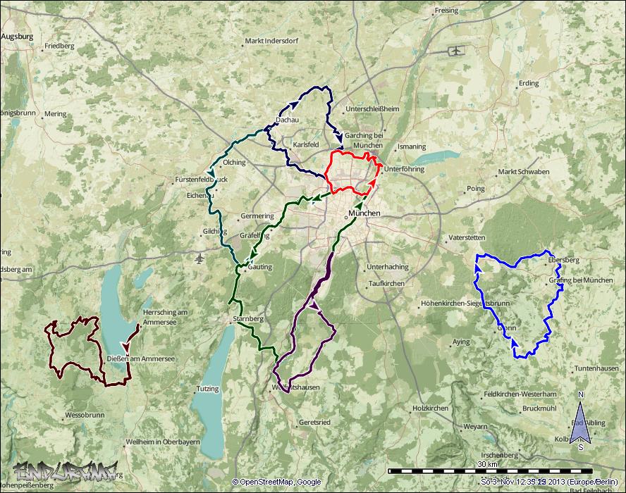 Singletrails ebersberg